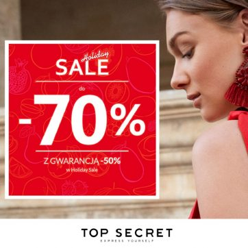 Holiday Sale w Top Secret