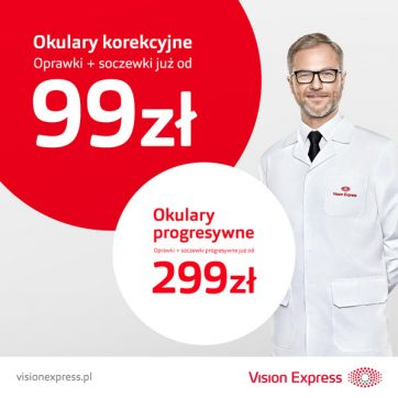 Promocje w Vision Express